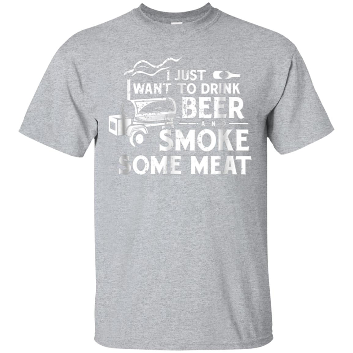 BBQ Smoking Pitmaster Shirt Gift Drink Beer Smoke Meat 99promocode