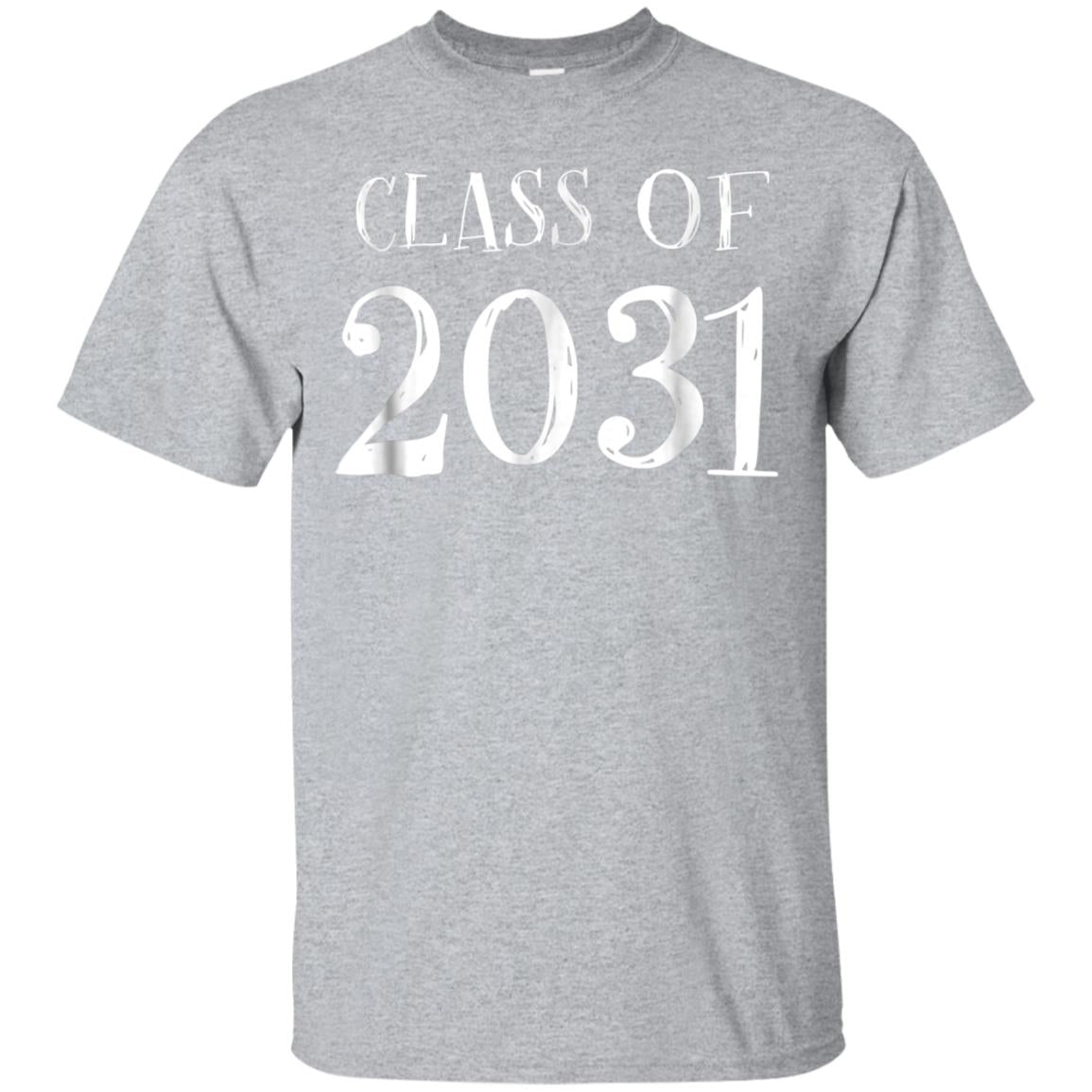 Class of 2031 Grow with me Shirt - First Day of School Shirt 99promocode