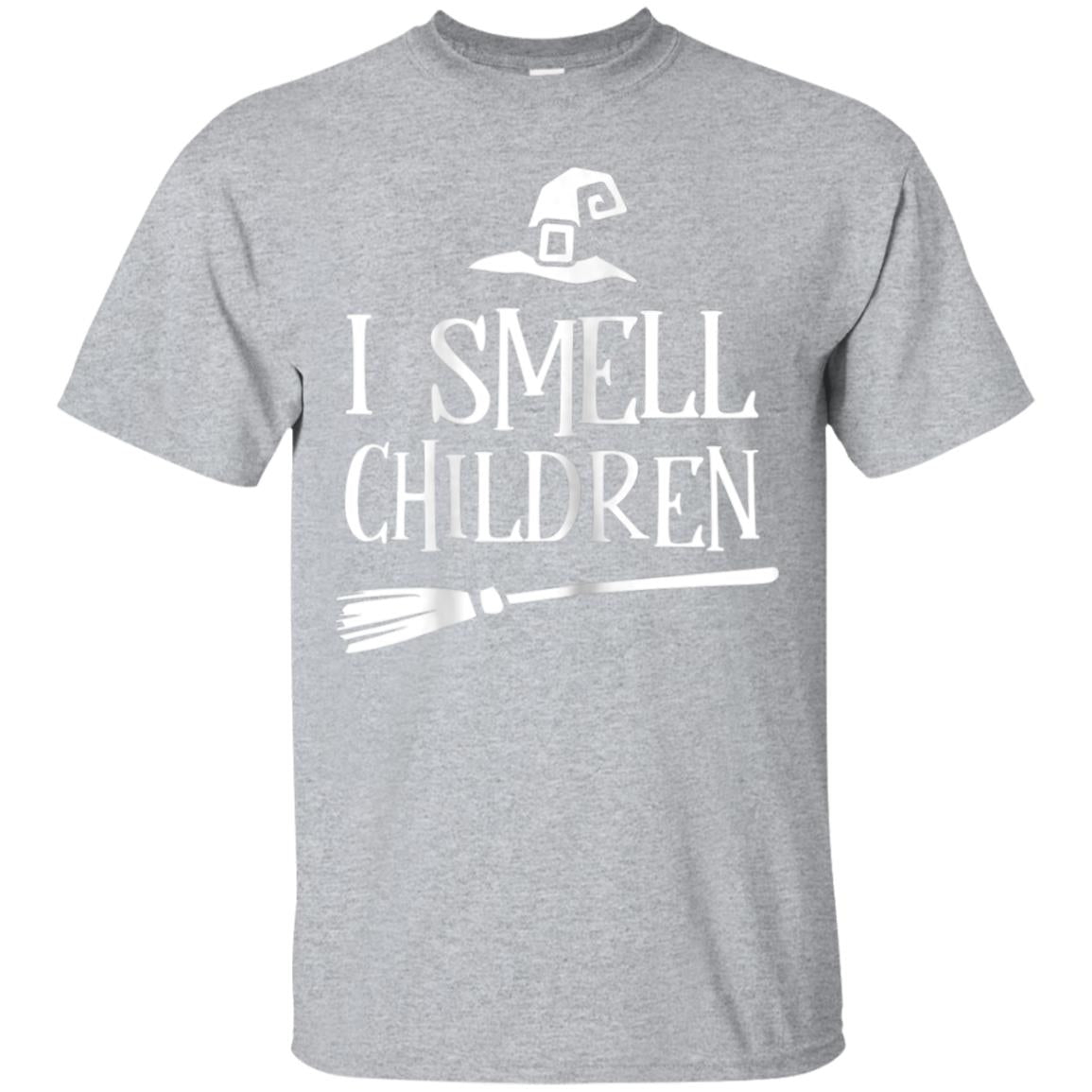 I Smell Children T Shirt Halloween Funny Costume Witches 99promocode