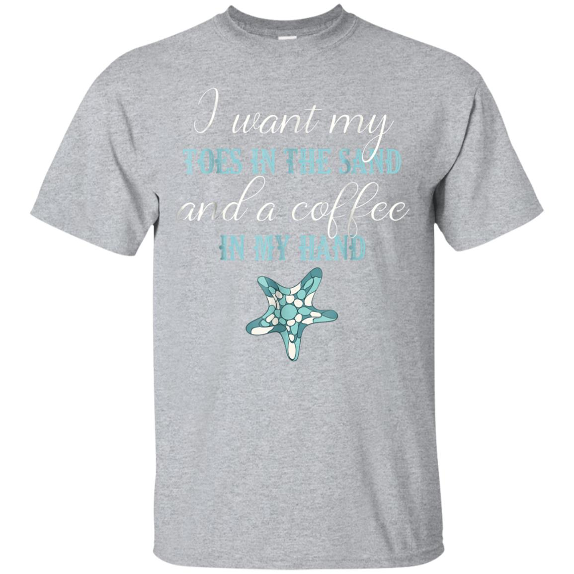 Toes In The Sand Beach Life TShirt Coffee Lover Shirt 99promocode