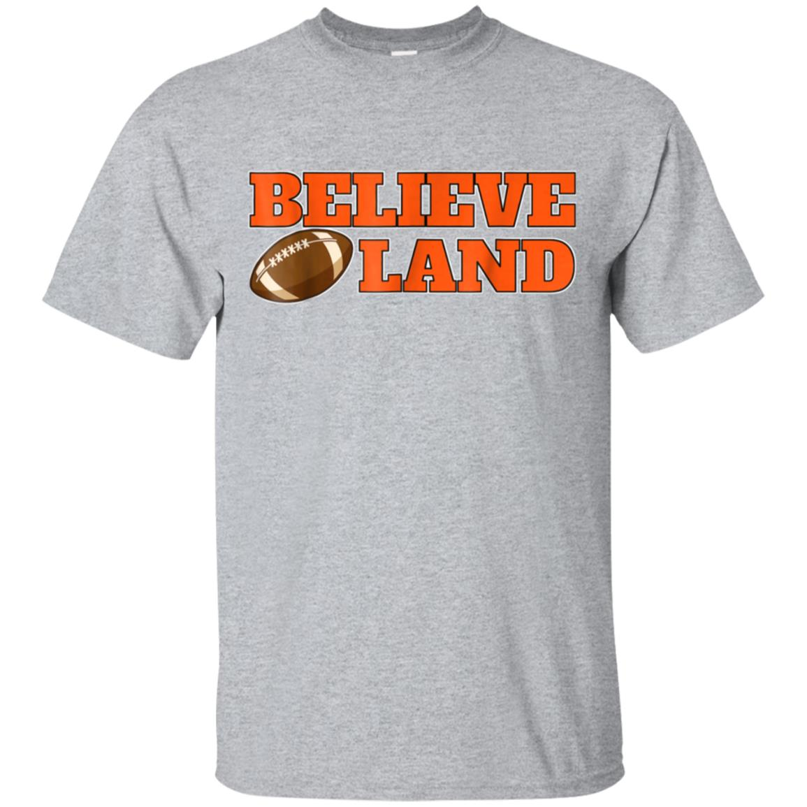 Believe in Cleveland T-shirt Funny Football shirt 99promocode