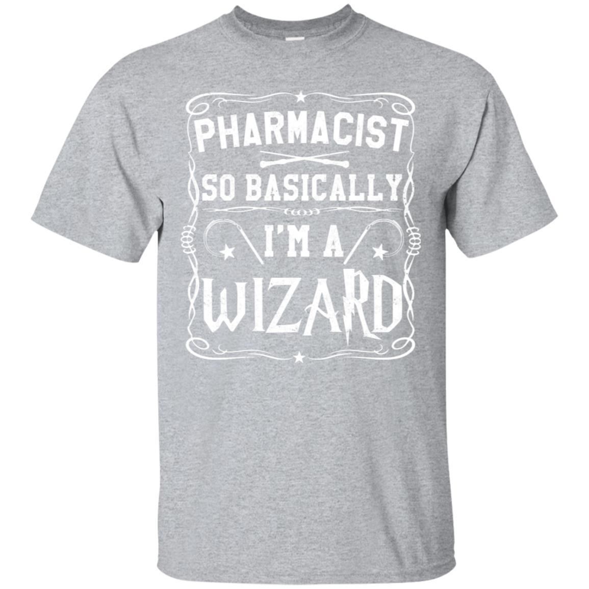 Pharmacist So Basically I'm A Wizard Long Sleeve shirt 99promocode