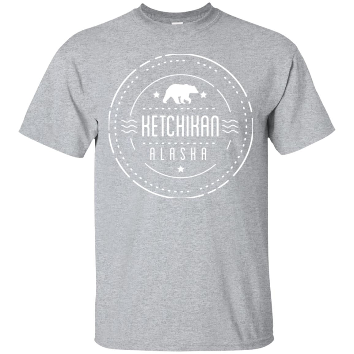 Ketchikan Alaska Shirt with Bear Long Sleeve Shirt 99promocode