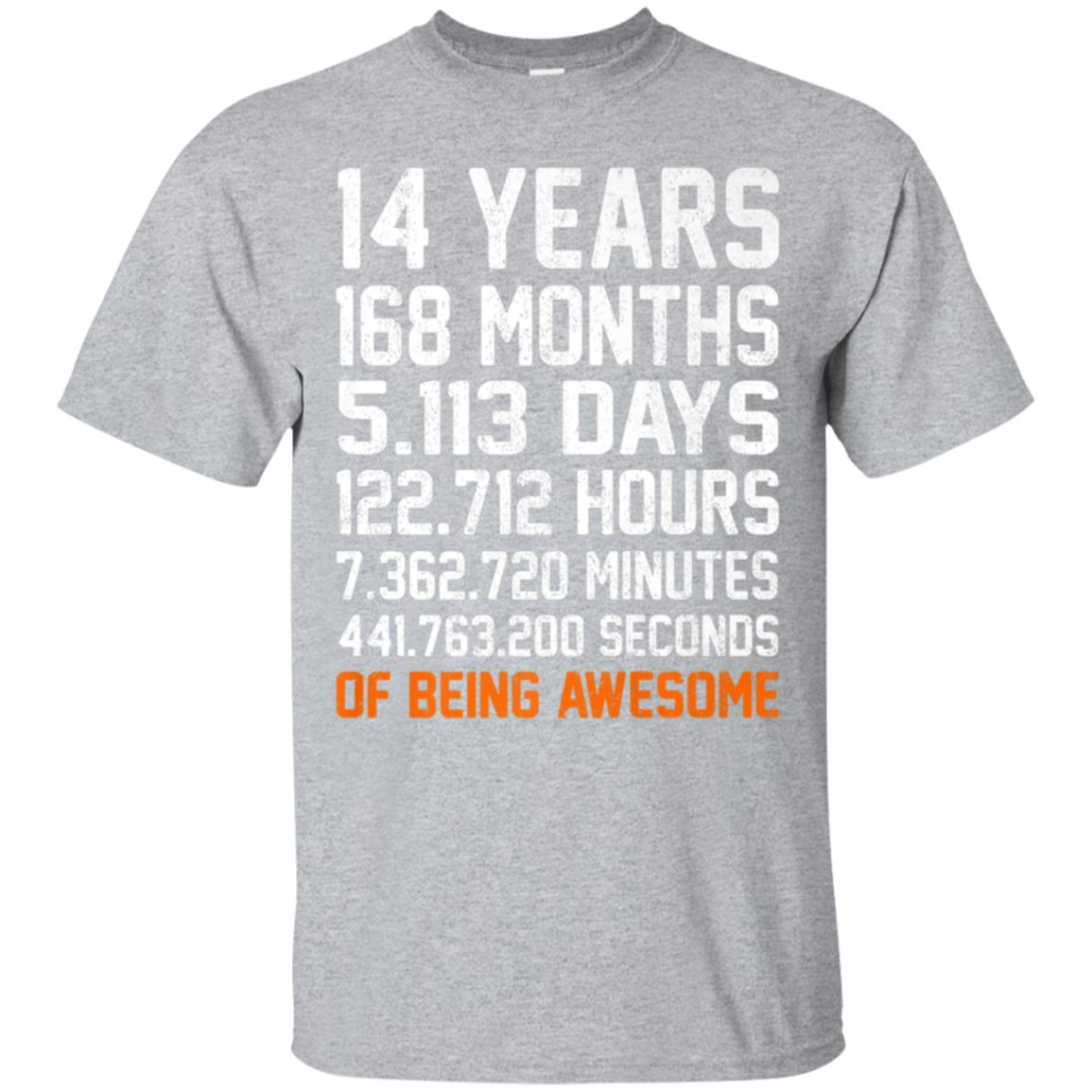 Awesome 14th Birthday Shirt Gift 14 Years Old Being 2004 Tee