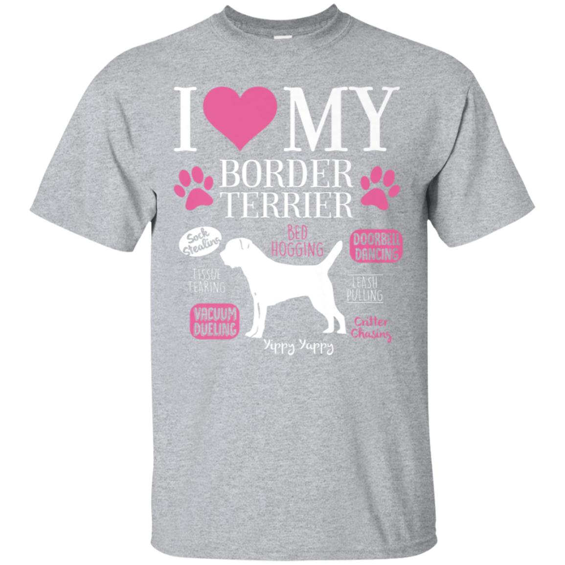 Dog Anatomy Of a Border Terrier T-Shirt 99promocode