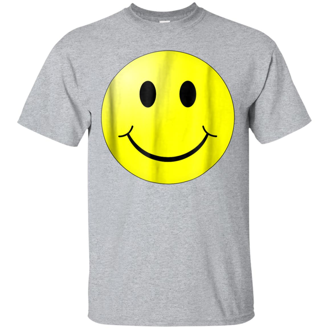 Smile and Be Happy Smiley Face T-shirt 99promocode