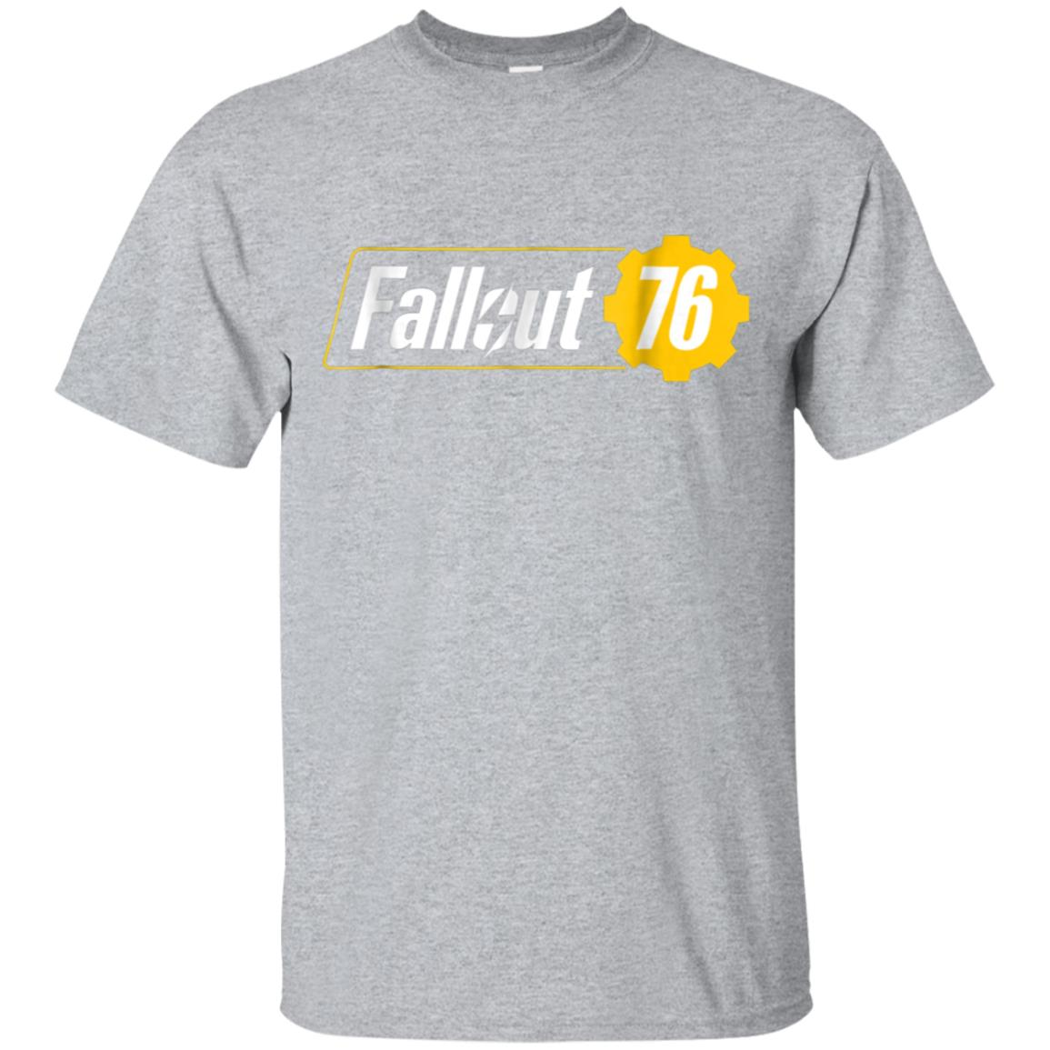 Fall out 76 Graphic Logo t-shirt for men women 99promocode