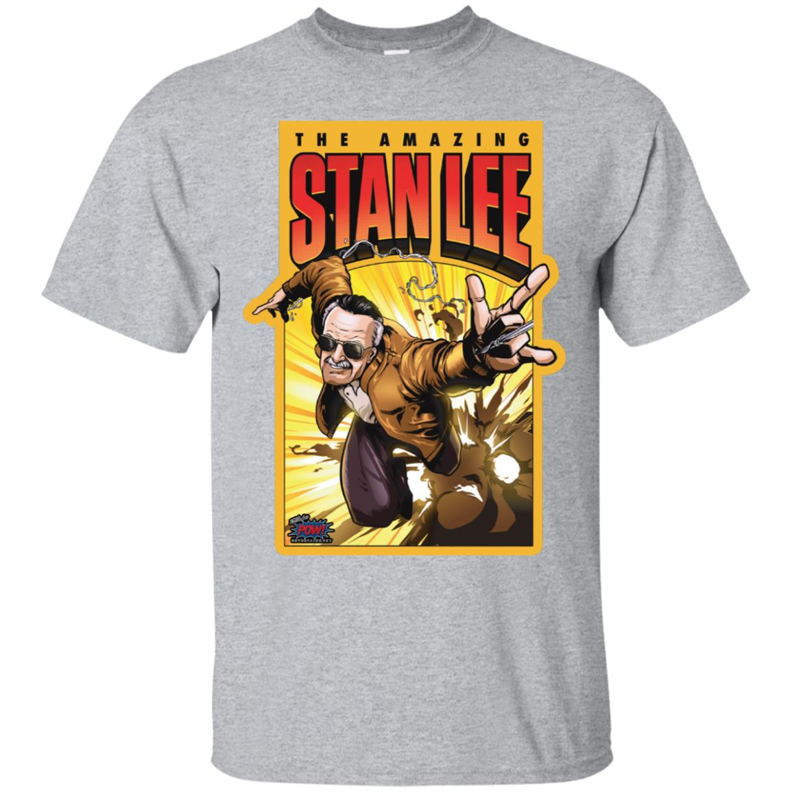 Pow! Entertainment's Amazing Stan Lee Tee (Multiple Colors) 99promocode