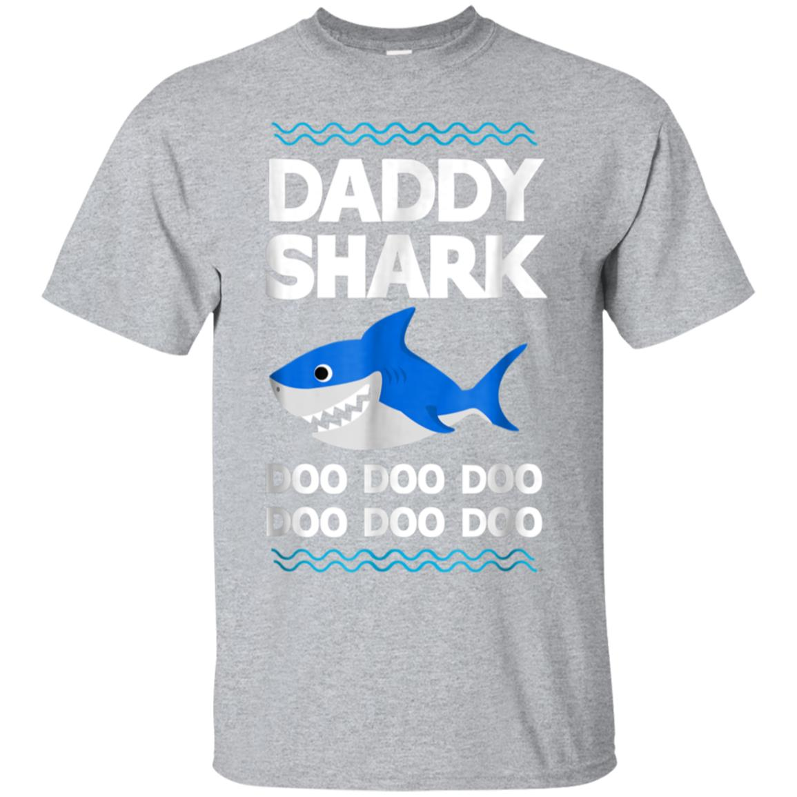 Daddy Shark T-Shirt Doo Doo Funny Baby Mommy Kids Video Tee 99promocode