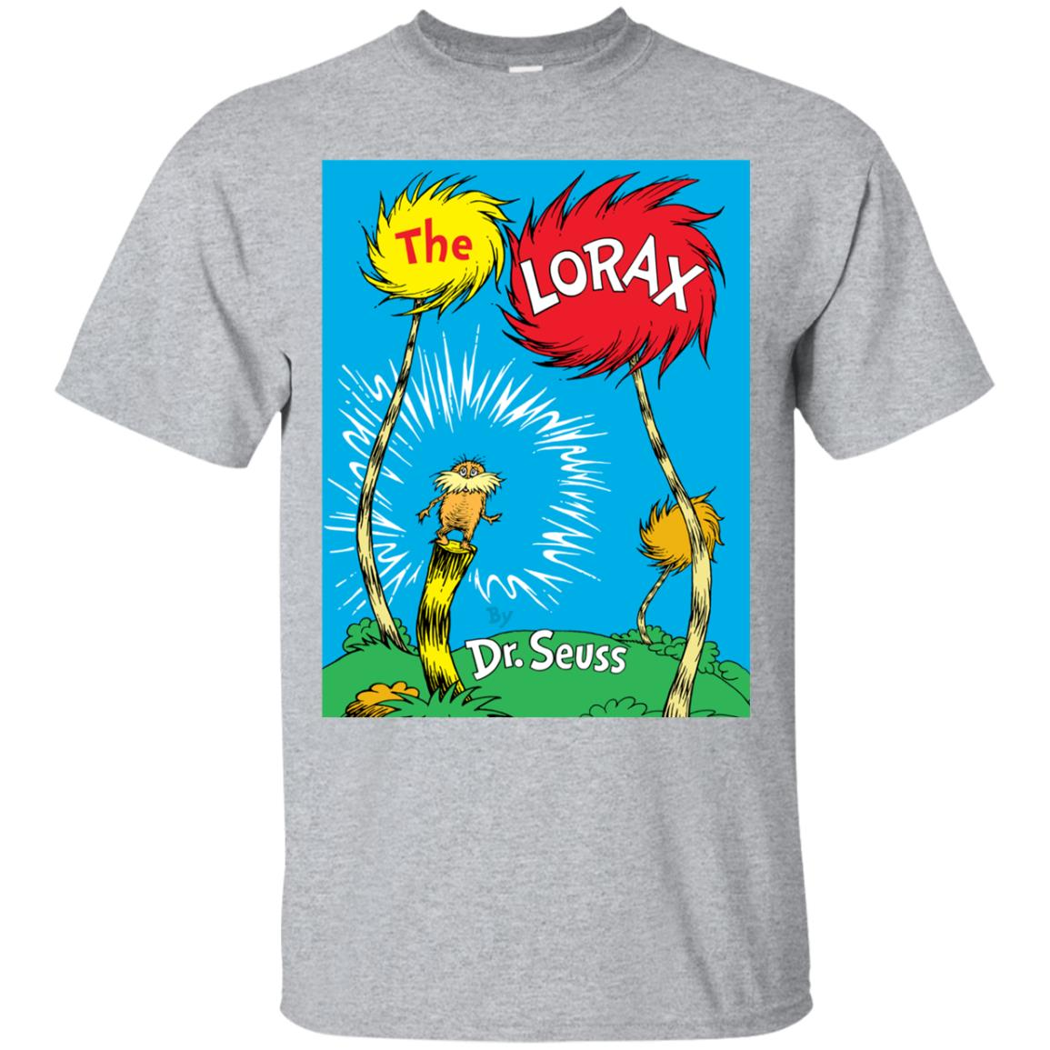 Dr. Seuss The Lorax Book Cover T-shirt 99promocode