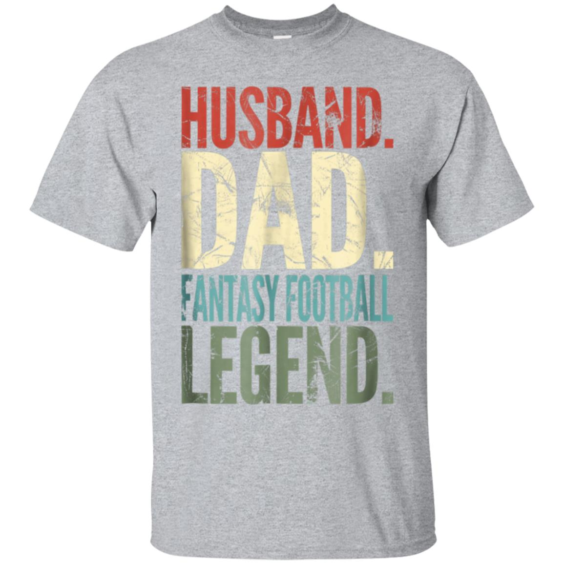 Mens Husband Dad Fantasy Football LEGEND T-Shirt 99promocode