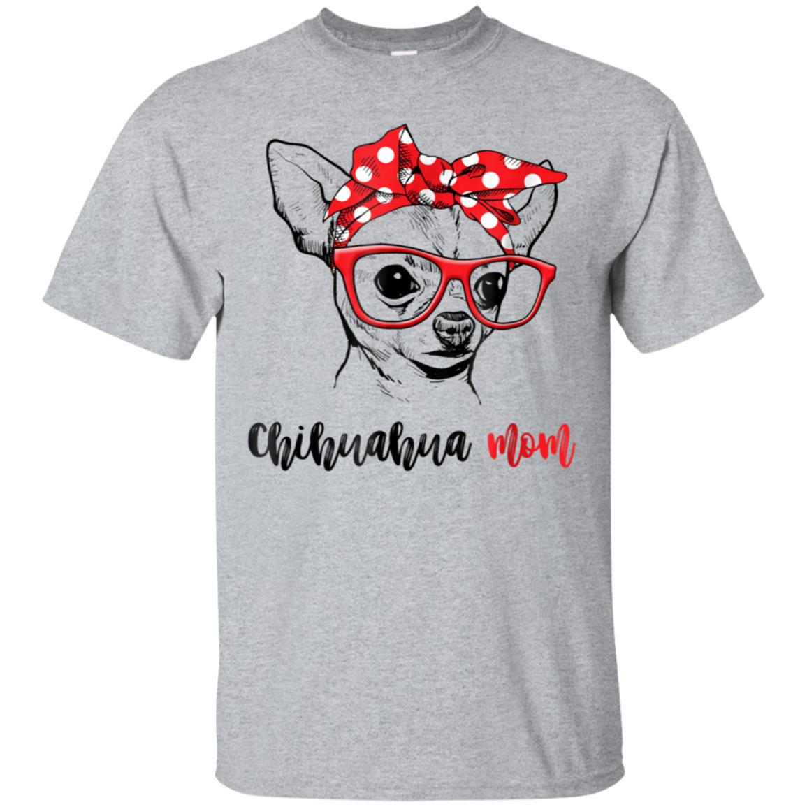 Chihuahua Mom T-Shirt Gift For Women 99promocode