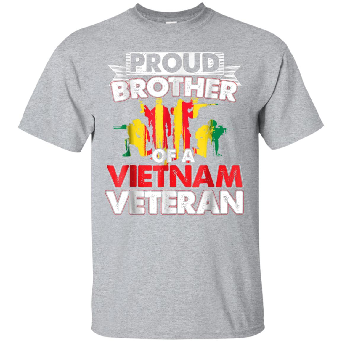 Proud Brother Vietnam Veteran Tshirt Veteran's Day Gift 99promocode