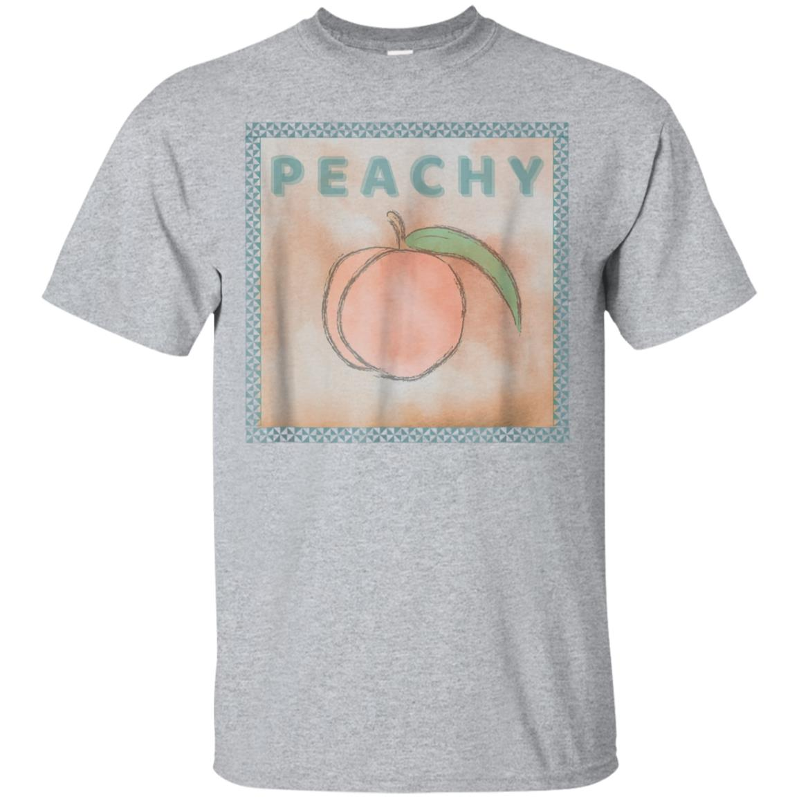 Just PEACHY - Southern Georgia Vintage Look Graphic Tee 99promocode