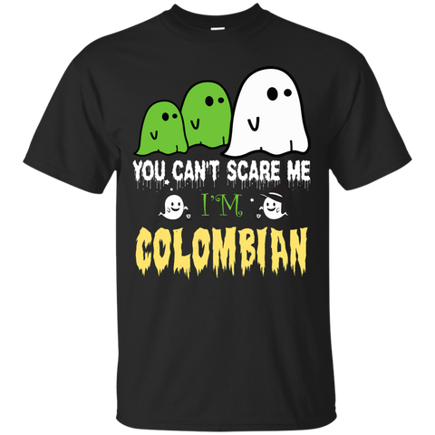 Halloween You can't scare me, i'm COLOMBIAN