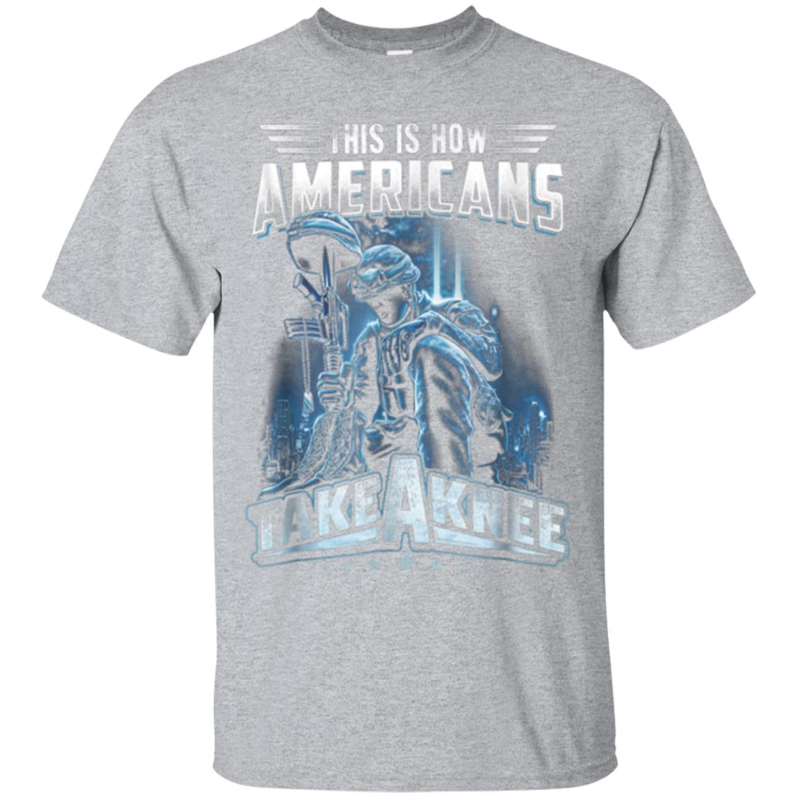 This Is How Americans Take A Knee Shirt Veteran's Day Gift 99promocode