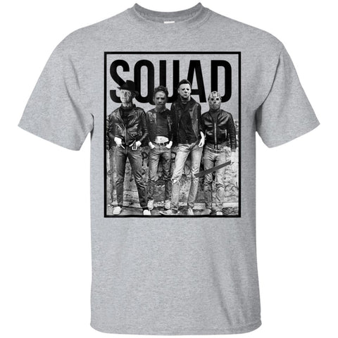 Halloween Squad Horror T-Shirt Gift For Men Women