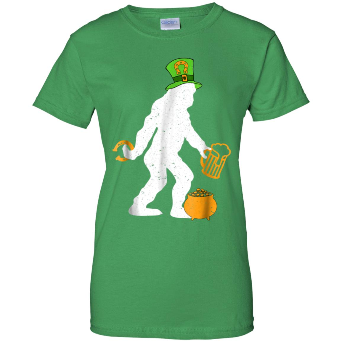 b0d3b50e683 Awesome bigfoot st patrick s day shirt funny st paddy s day tee ...