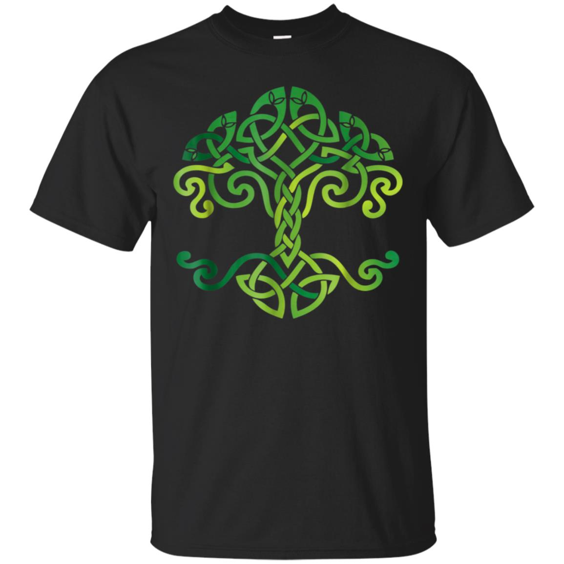 Celtic Tree T Shirt St Patrick's Day, Irish, Traditional Tee 99promocode
