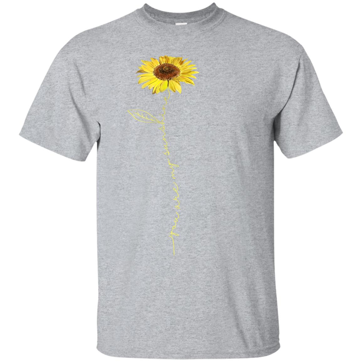 You Are My Sunshine Hippie Sunflower Tshirt Gifts For Women 99promocode