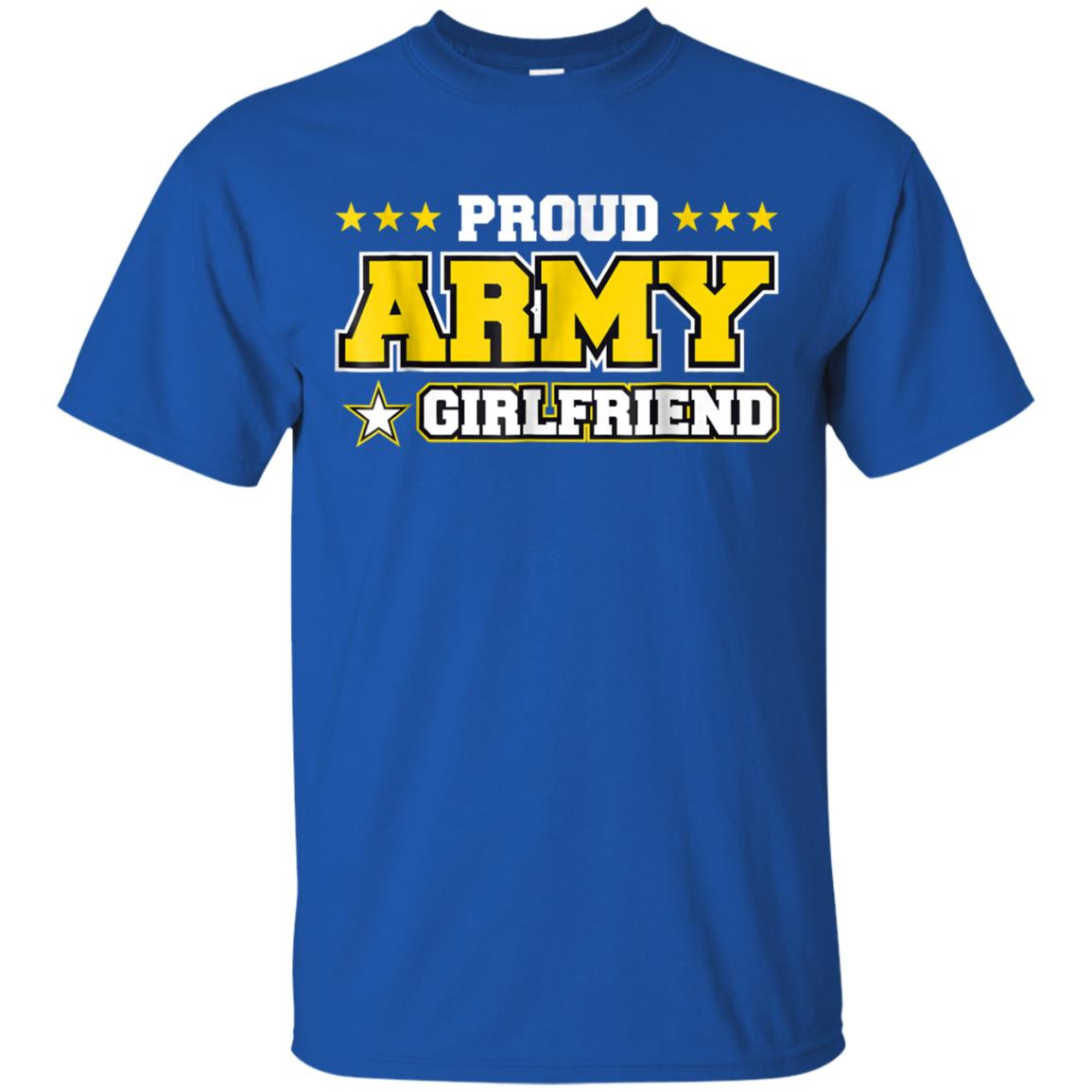 3cef6fc2 Awesome proud army girlfriend t shirt us military girlfriend family ...