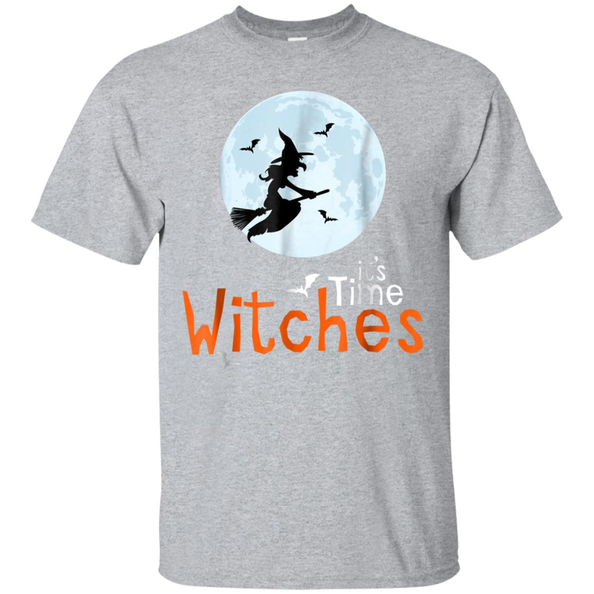 IT'S time witches Halloween funny shirt 99promocode