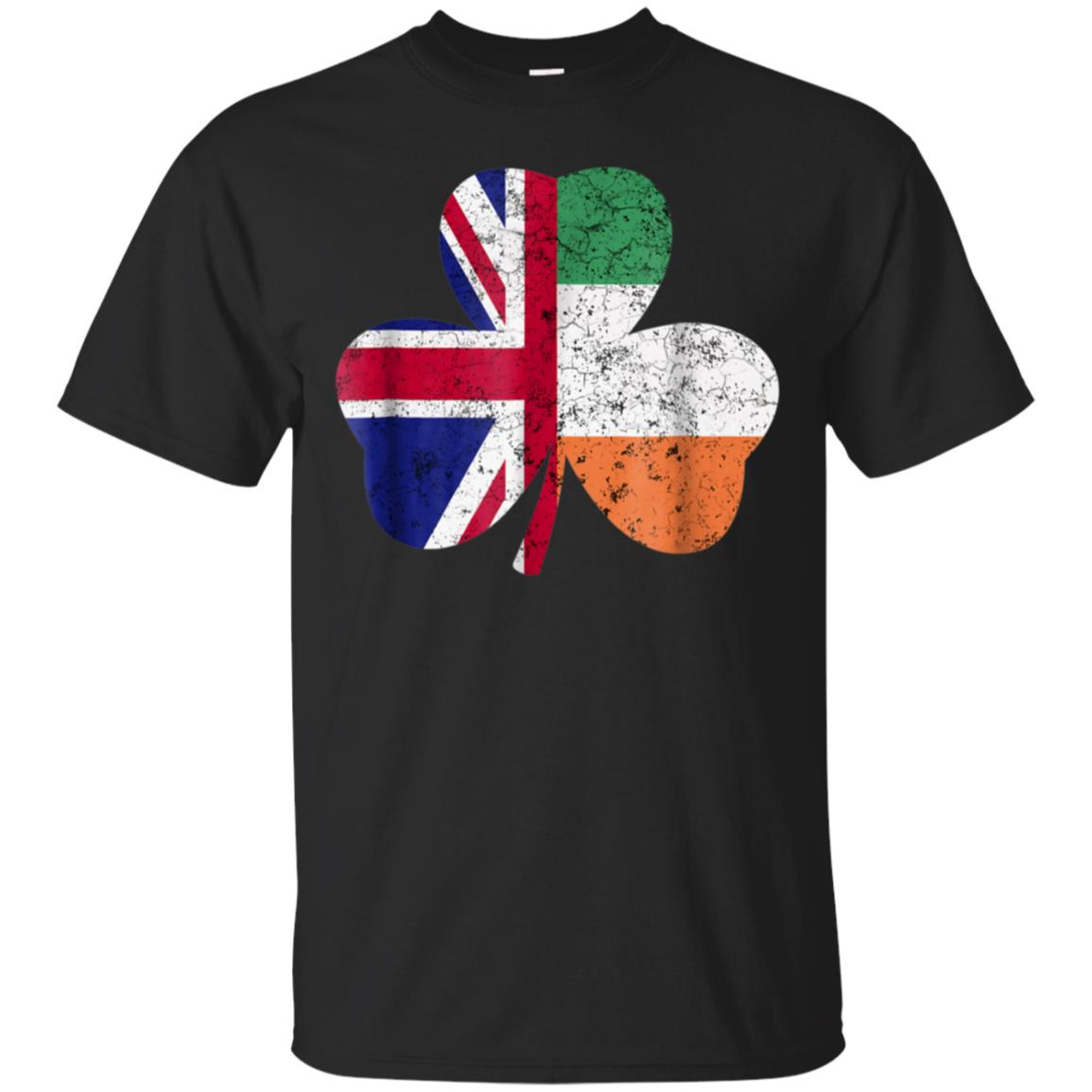 British Flag Irish T Shirt St Patricks Day Party Clothes 99promocode