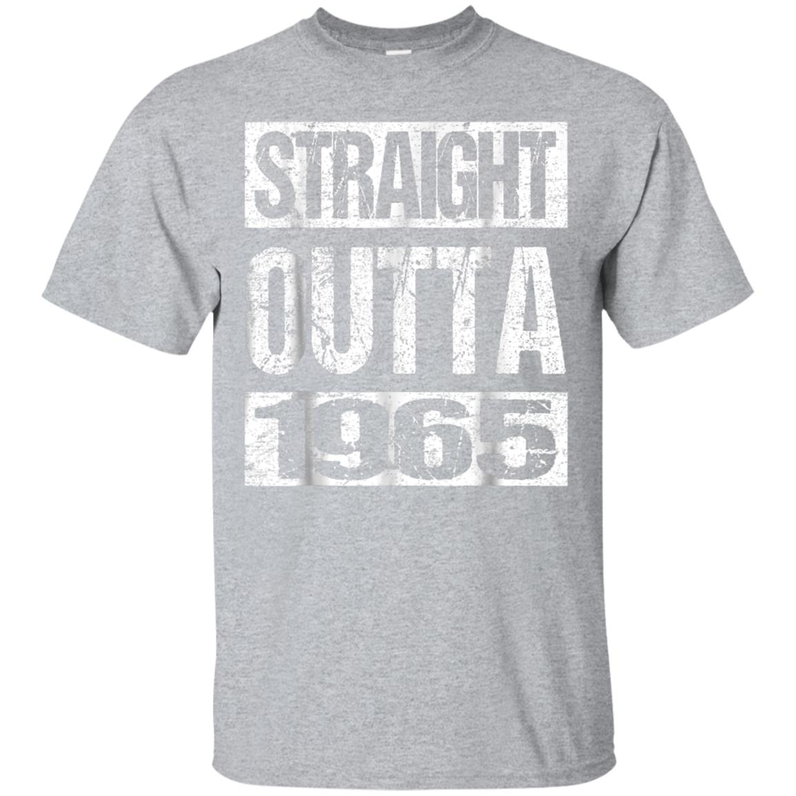 Straight Out Of 1965 Hearts 53th Years Old Tshirt Birthday 99promocode