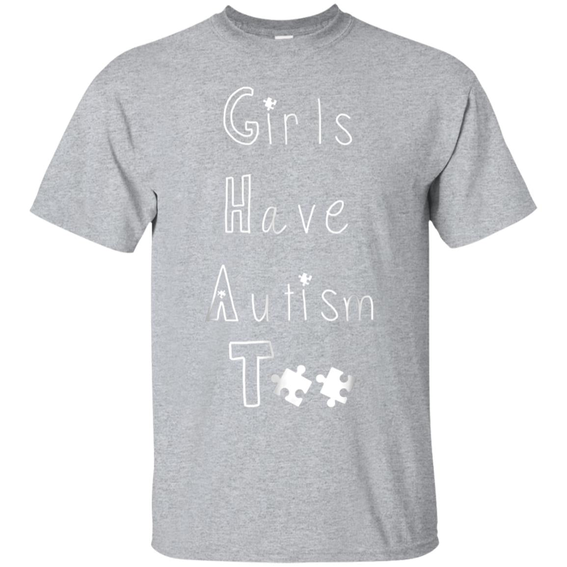 Girls Have Autism Too Awareness T Shirt 99promocode