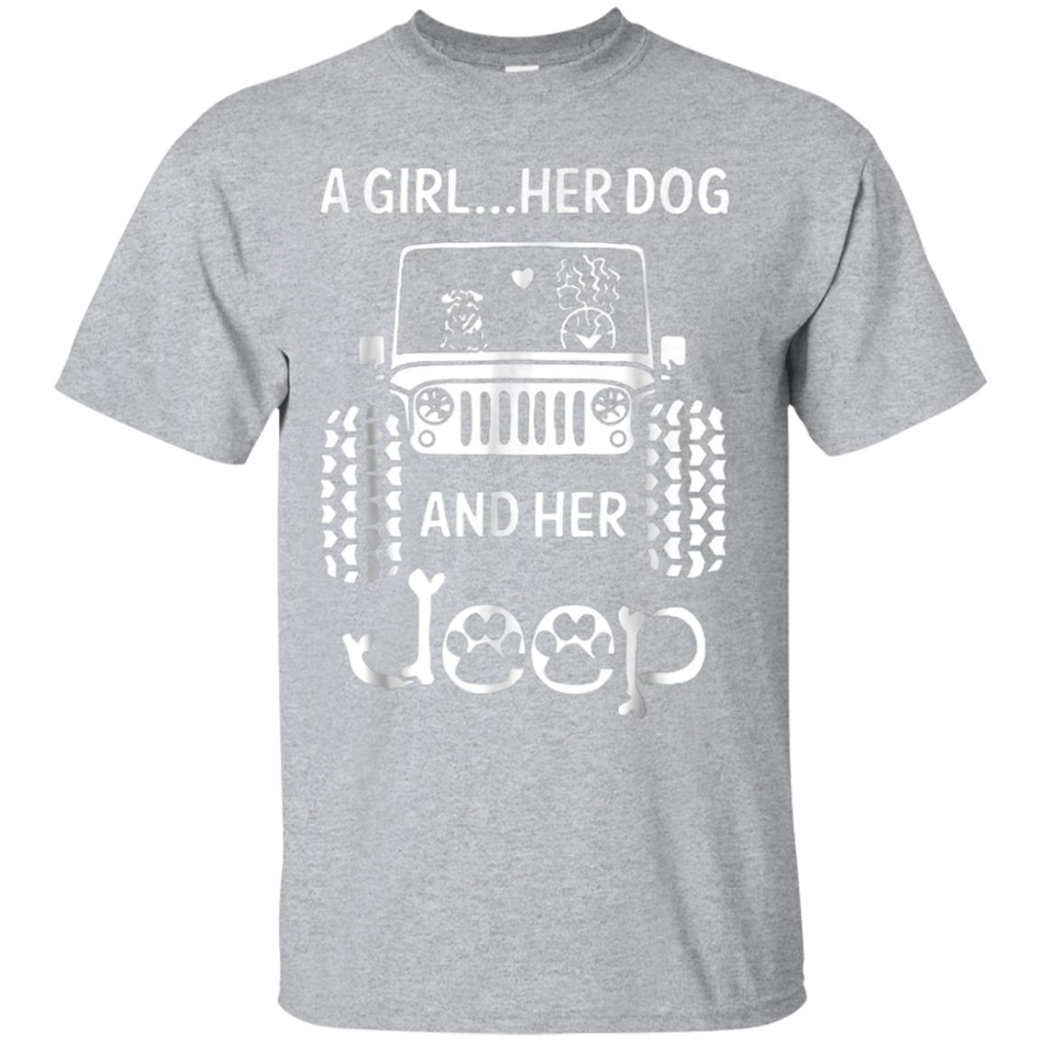 Easily Distracted By Jeeps and Dogs Tshirt 99promocode