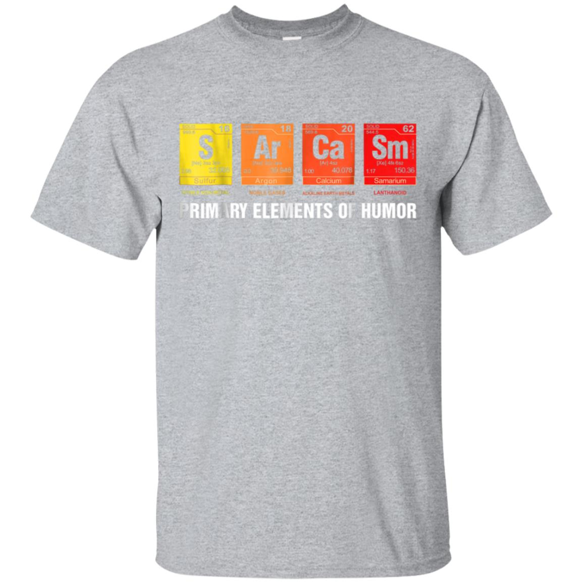 d267cd80 Awesome science t shirt sarcasm s ar ca sm primary elements of humor ...
