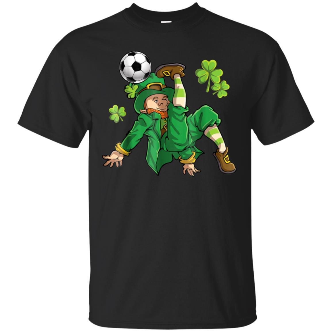Leprechaun Soccer T Shirt St Patricks Day Boys Kids Women 99promocode