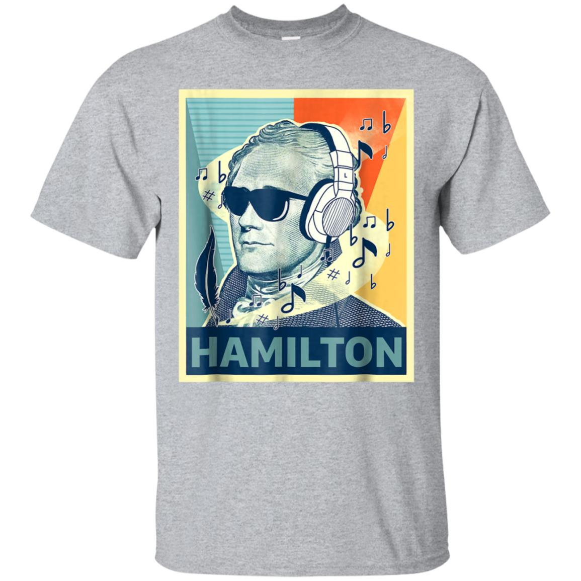 Hamilton Shirt Wearing Sunglasses 99promocode