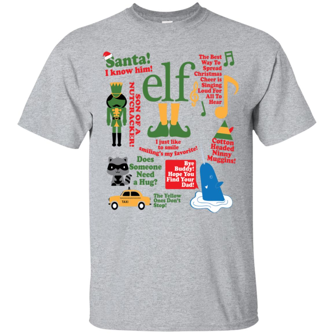 Elf The Movie Funny Quotes Buddy Christmas Holiday