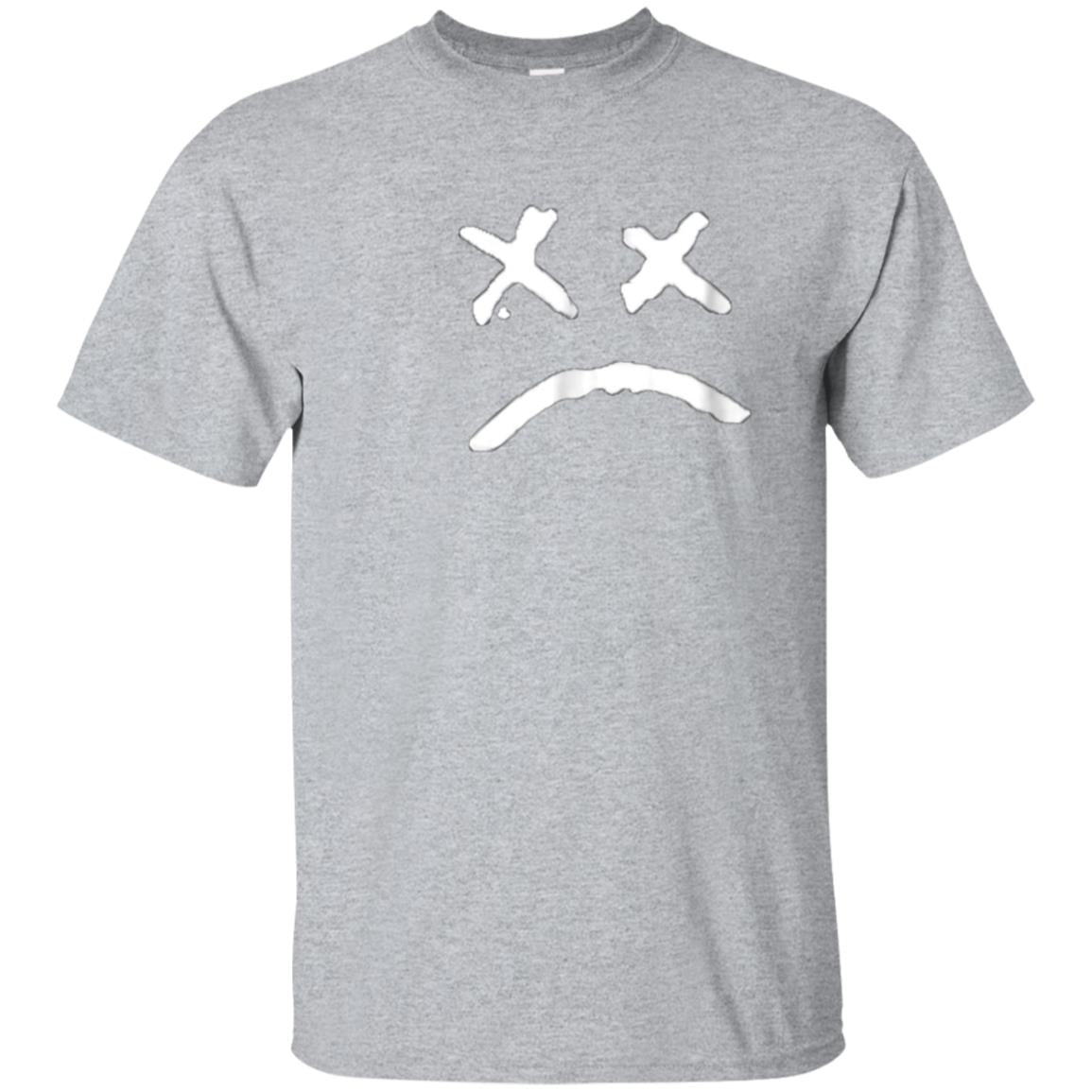 Lil-Peep Rapper Sad Face Gift Shirt 99promocode
