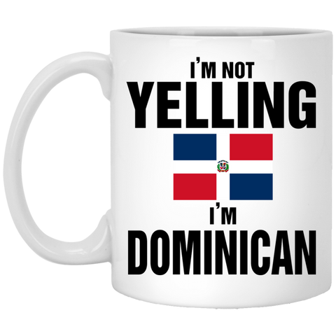 I am not Yelling I am dominican