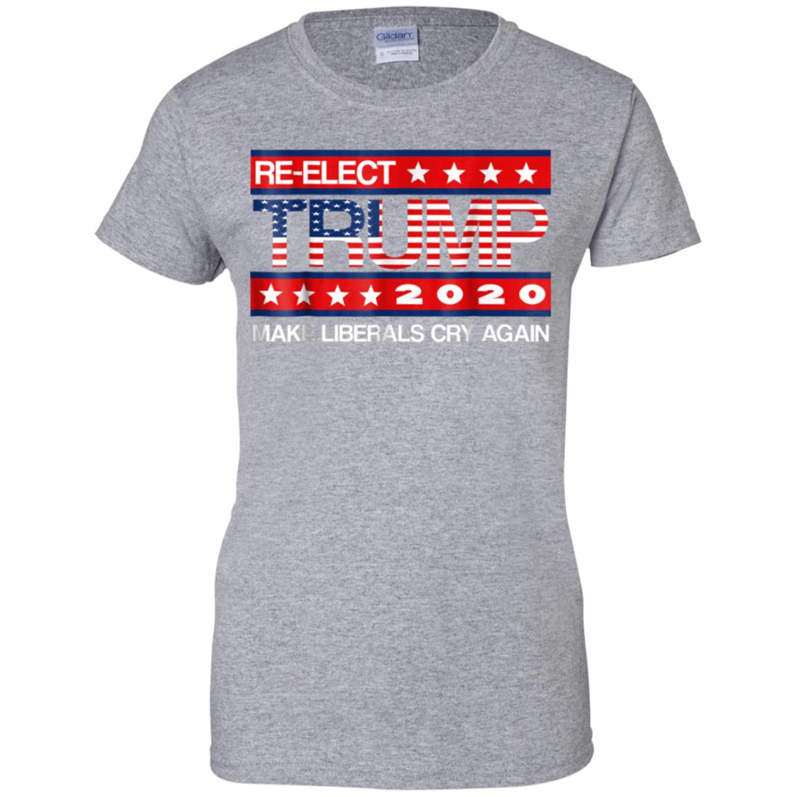 b28fae4d877 Awesome donald trump election 2020 make liberals cry again gop shirt ...