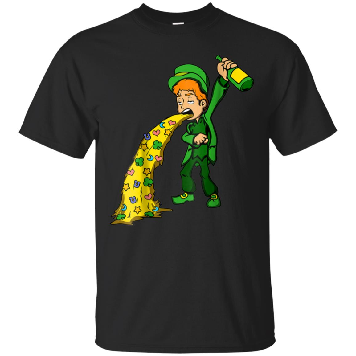 St Patricks Day Shirt Irish 2018 Drunk Beer Leprechaun Vomit 99promocode