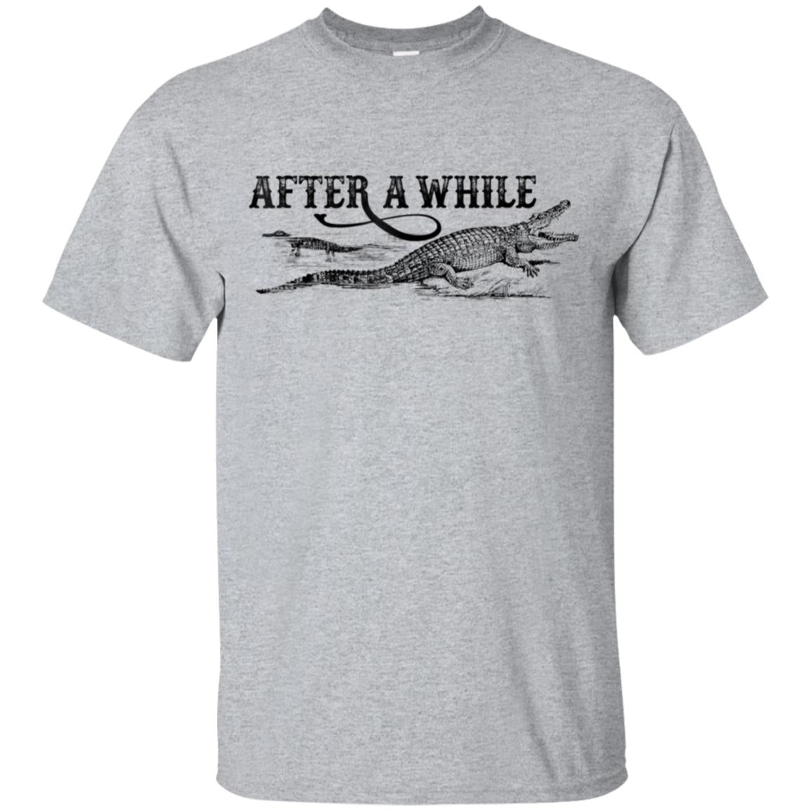 After A While Crocodile T-Shirt 99promocode
