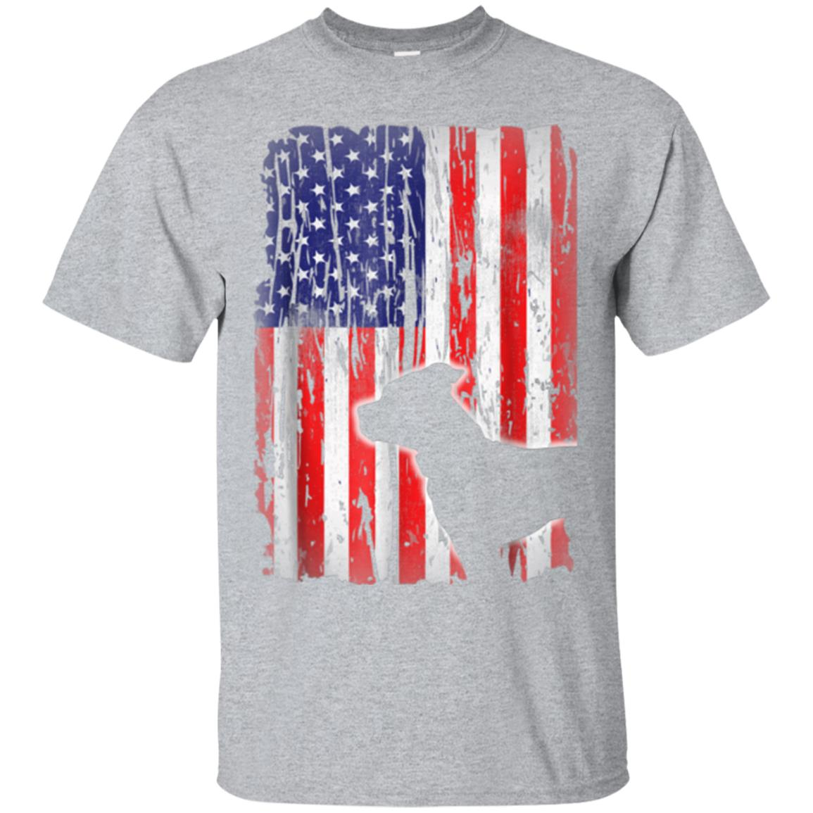 Pitbull terrier American Flag Shirt USA Patriotic Dog Gift 99promocode