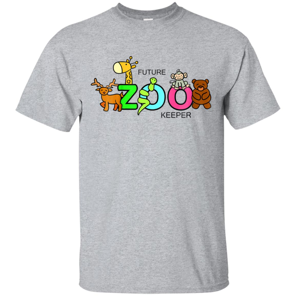 Kids Future Zoo Keeper African Safari Boys Girls Shirt Gift 99promocode