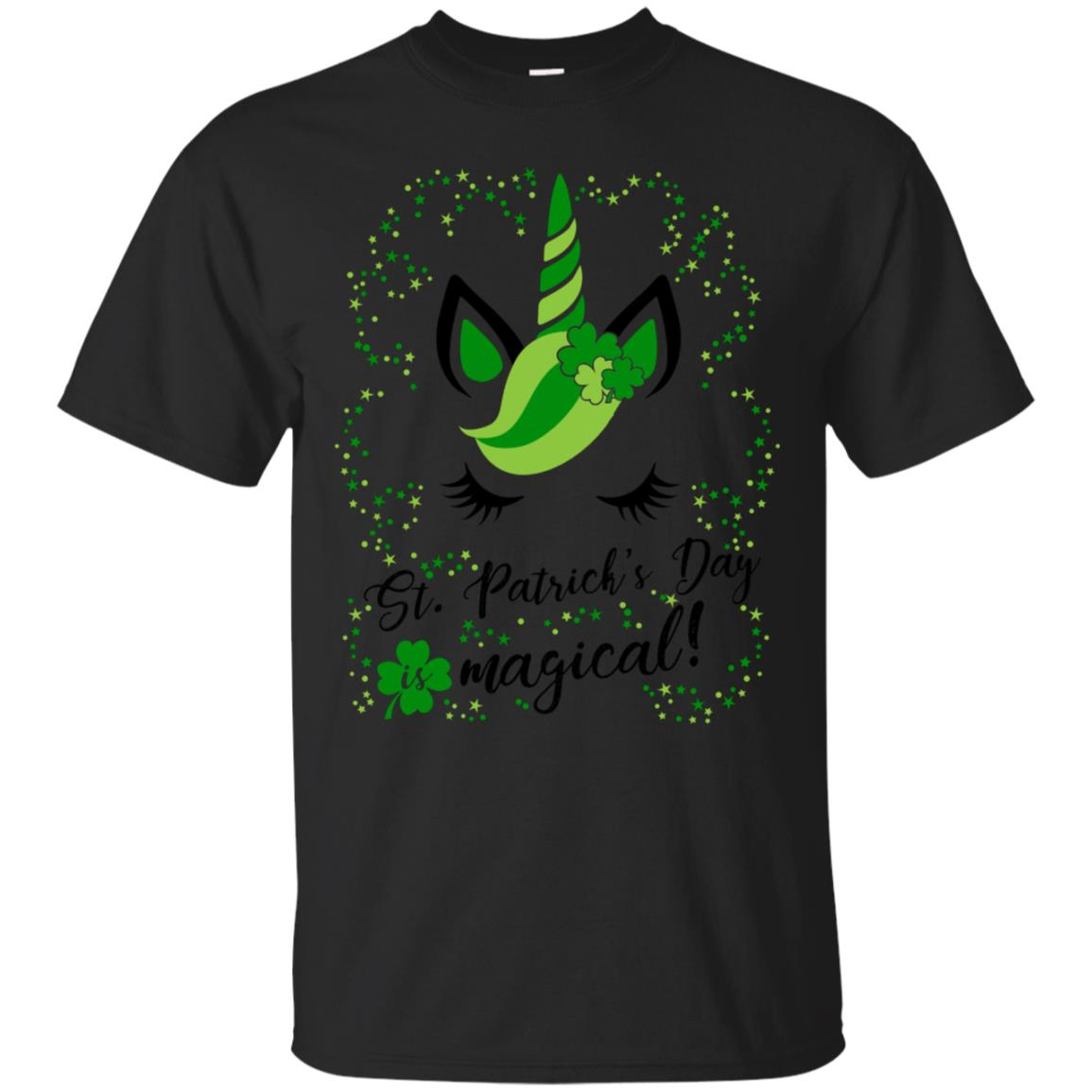 St Patricks day is magical! Cute & Funny Unicorn T Shirt 99promocode