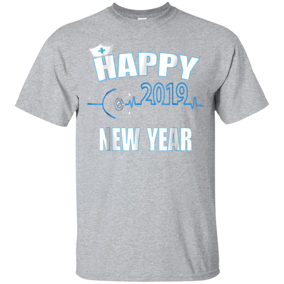 2019 Happy New Year nurse Gift Quote shirt 99promocode