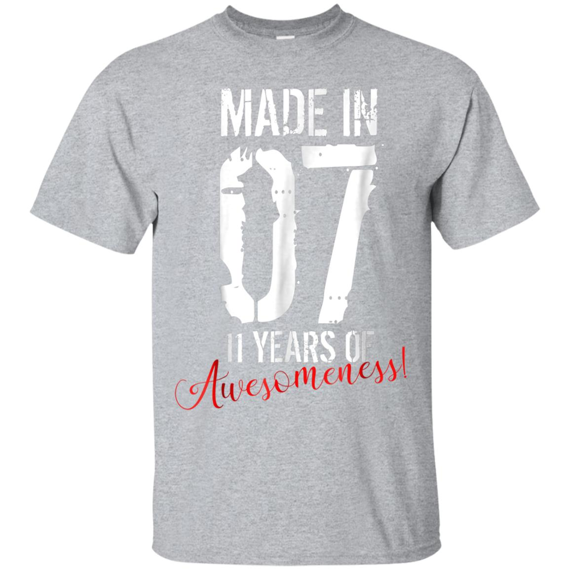 Awesome 11 year old birthday gift shirt awesome 11th birthday gift - 99promocode  sc 1 st  99promocode & Awesome 11 year old birthday gift shirt awesome 11th birthday gift ...