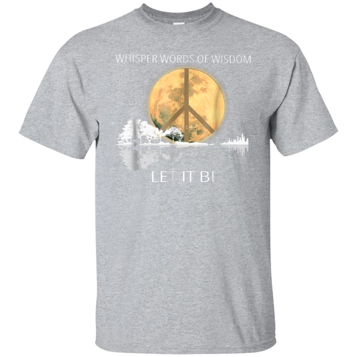 Whisper Words Of Wisdom Let It Be Guitar Lake Shadow Shirt 99promocode
