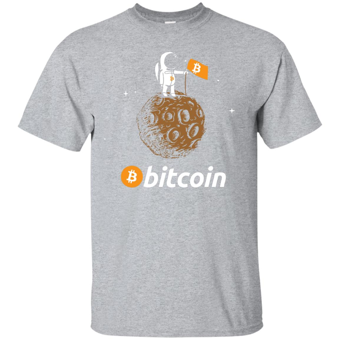 Bitcoin BTC Crypto to the Moon Shirt Featuring Astronaut 99promocode