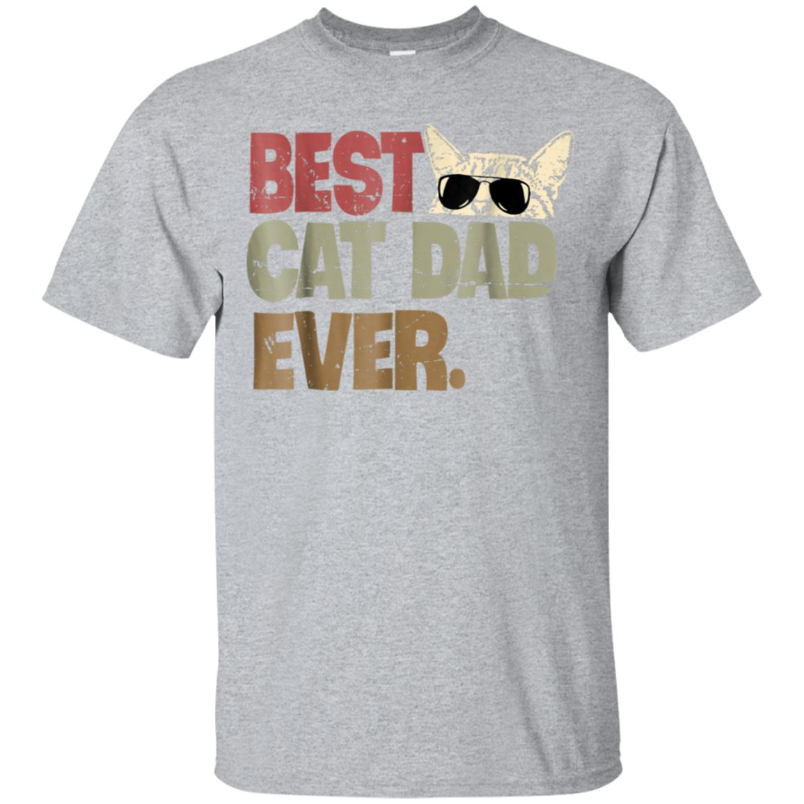 Best Cat Dad Ever T-Shirt Cat Daddy Gift Shirts 99promocode
