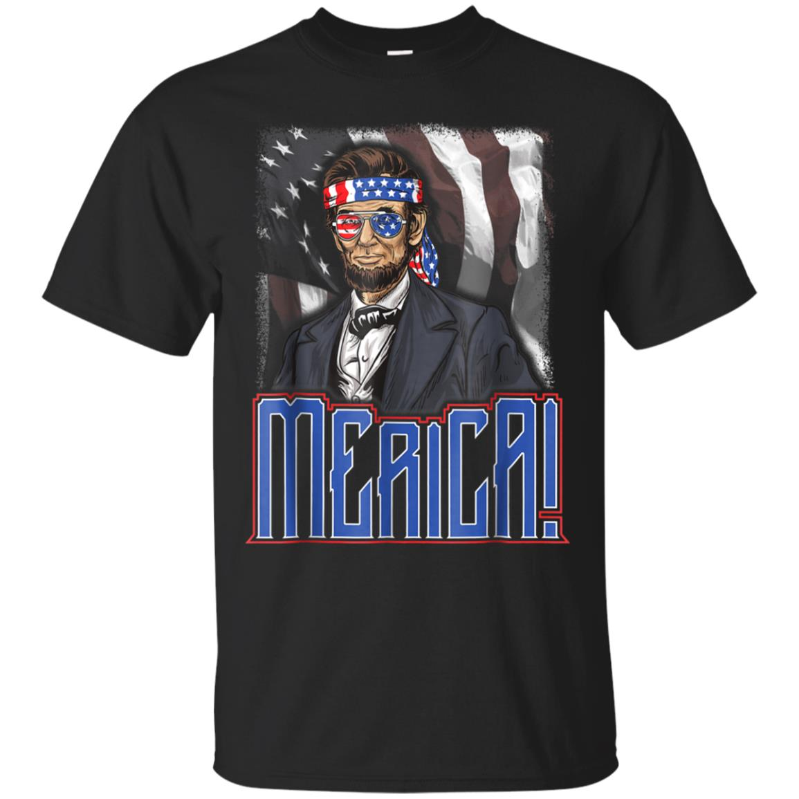 22c3ce055 Awesome merica abe lincoln t shirt 4th of july american flag america ...