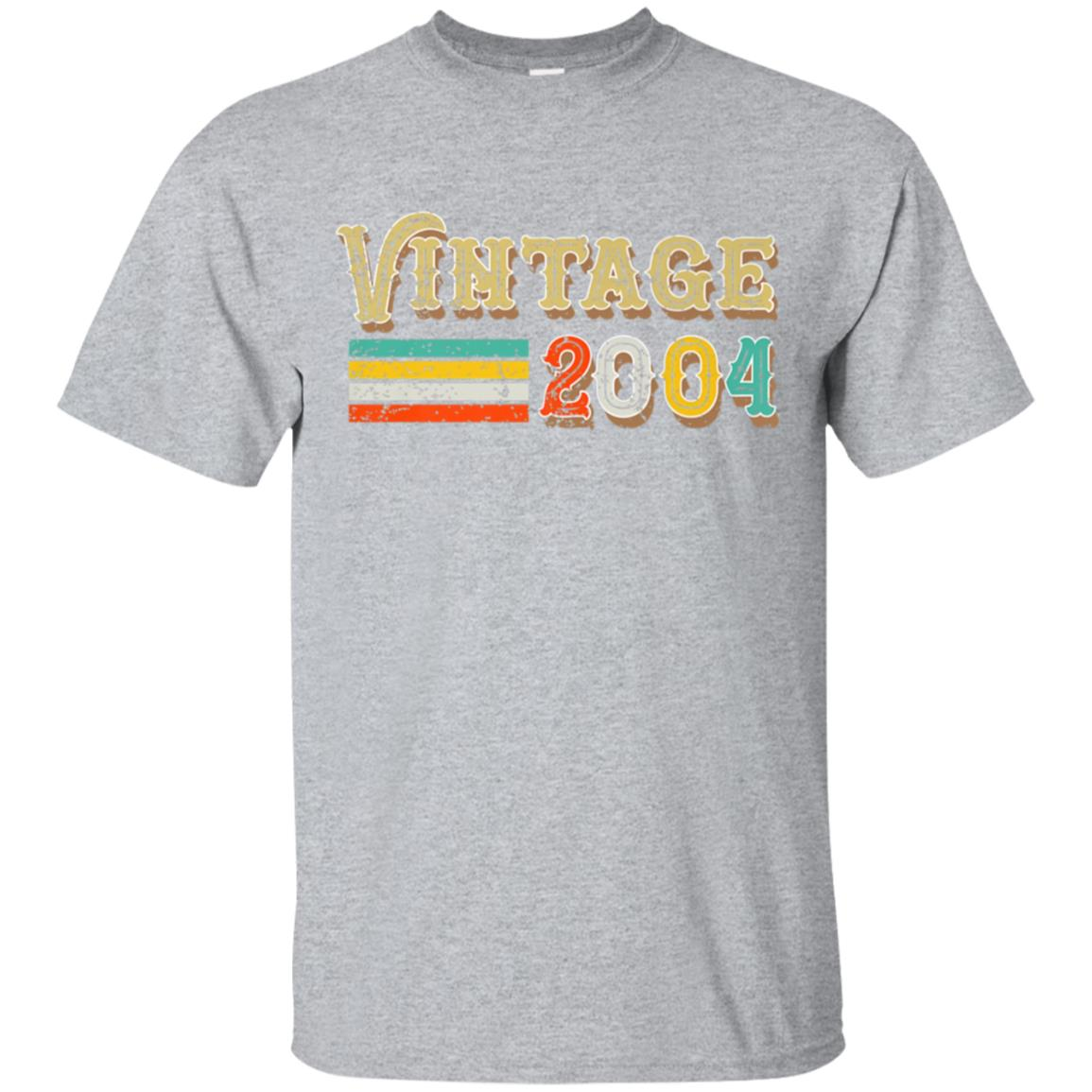14th Birthday Gifts Vintage 2004 T-Shirt 14 Year Old Outfit 99promocode