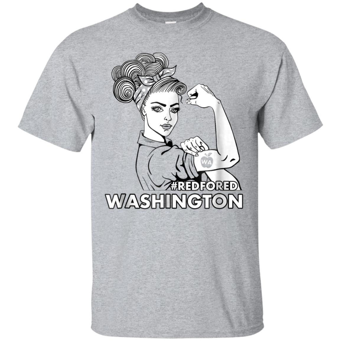 WA redfored red for ed Washington teacher shirt 99promocode